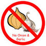 No garlic no onions