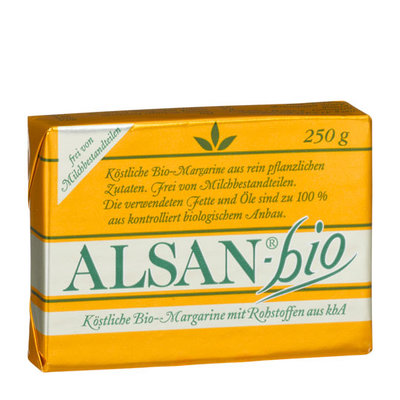 Alsan Plantaardige margarine 250g