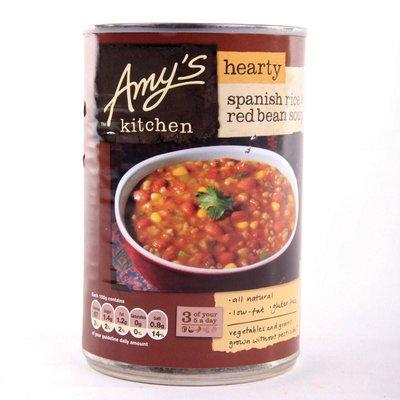 Amy's Kitchen- Spaanse Rijst & Red Bean Soup 416g