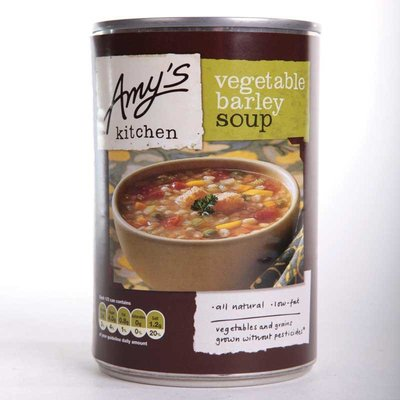 Amy's Organic Vegetable Barley Soup 400g