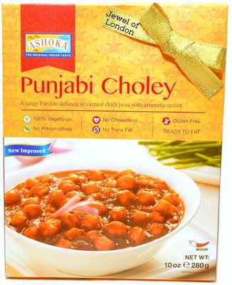 Ashoka Punjabi Cholay heat and eat