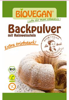 Biovegan Backpulver 4x17g