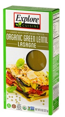 Explore Cuisine Green Lentil Lasagne 250g