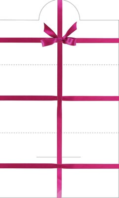 Veggie 4U Gift Card Envelop
