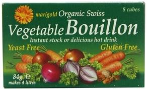 Marigold Swiss Groente Bouillon Blokjes GV en Gistvrij 84g