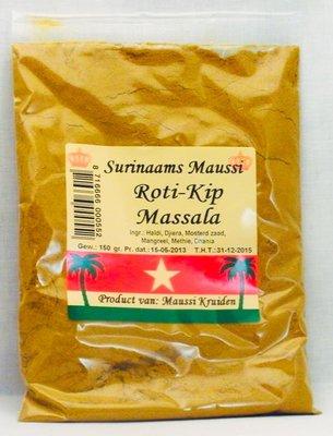 Maussi Masala, Roti kerrie