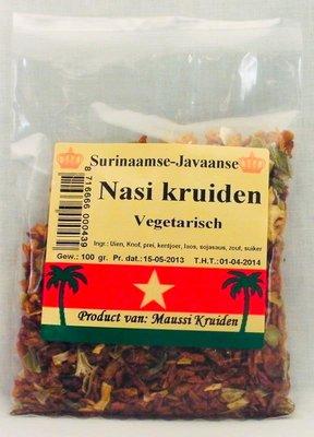 Nasi kruiden vegetarisch 100g