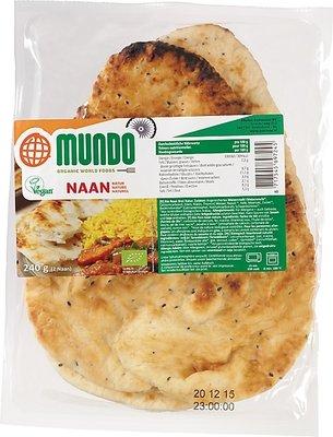 O Mundo Naanbrood naturel 240g *THT 03.06.2018*