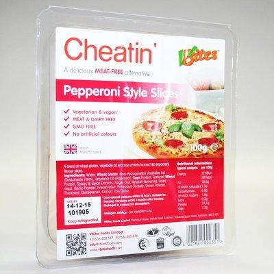 Vbites Cheatin' Pepperoni 100g