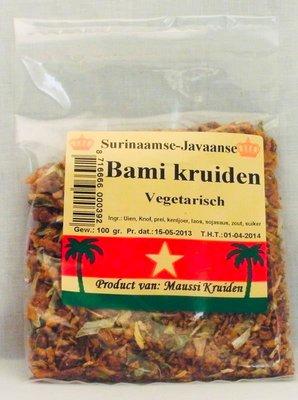 Vegetarische bami kruiden Maussi kruiden 100g