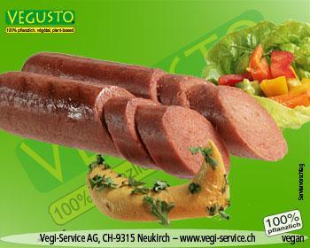 Vegusto Wienier Sausage (Vegi-Raucherli) 160g