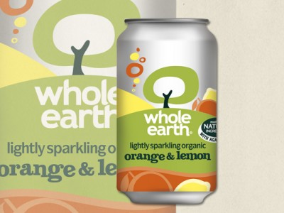 Whole Earth Orange and Lemon Drink