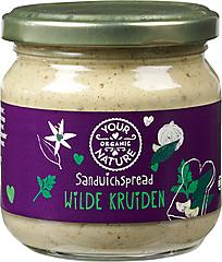 Your Organic Nature, Sandwichspread Wilde Kruiden 180g