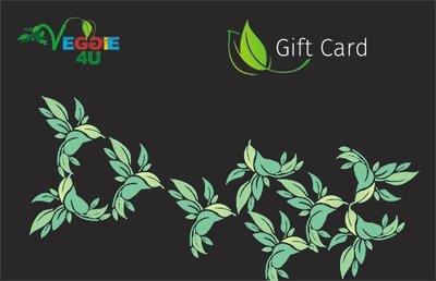 Veggie 4U Gift Card 25 Euro
