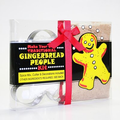 Green Cuisine Gingerbread People Kit 125g
