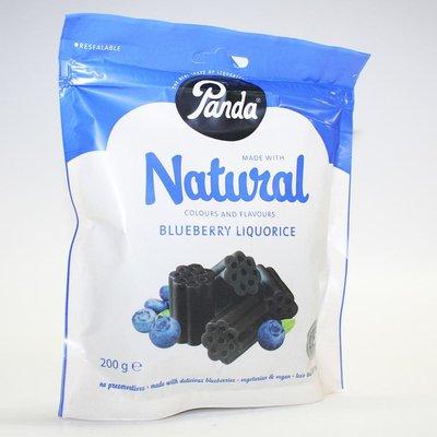 Panda Blueberry Liquorice Bag 200g
