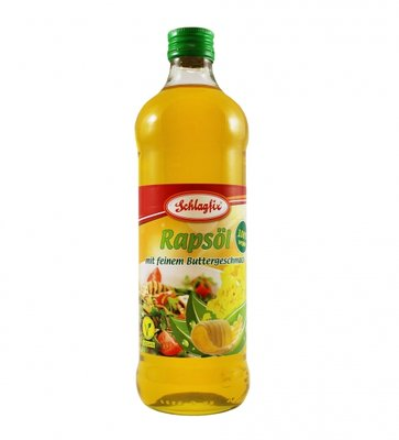 Schlagfix Rape Seed Oil with Butter flavor 500ml