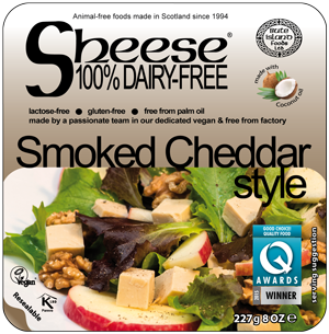 Sheese Smoked Cheddar Style 227g