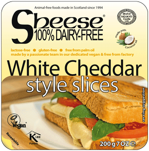 Sheese White Cheddar style slices 227g