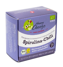 Happy Cheeze SPIRULINA-CHILLI (BIO)100G  *THT 30.04.2017*