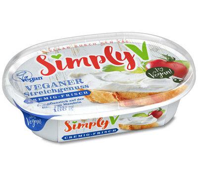 Simply V Veganer Streichgenuss spread creamy-fresh 150g
