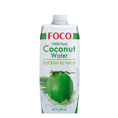 Foco 100% Coconut Water 500ml