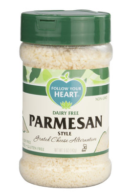 Follow Your Heart Parmesan Grated 142g *THT 15.09.2017*