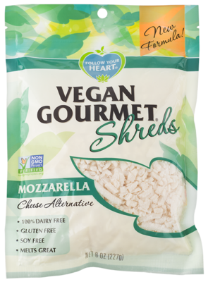Follow Your Heart Mozzarella Shreds 227g