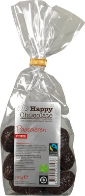 Happy Chocolate Paaseieren puur 170g