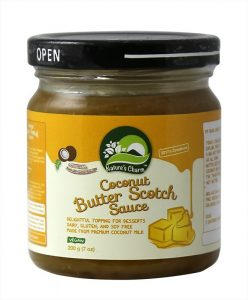 Nature's Charm Coconut Butter Scotch sauce 200g