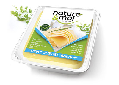 Nature & Moi GOAT CHEESE Slices 200g