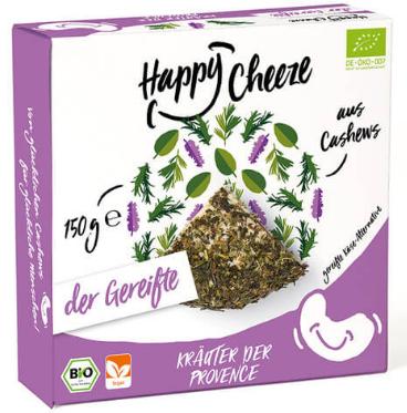 Happy Cheeze - Bio Kräuter der Provence 150g *THT 10.10.2018*