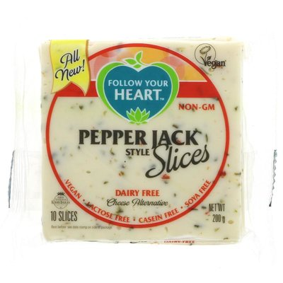 Follow Your Heart Pepper Jack Slices 200g