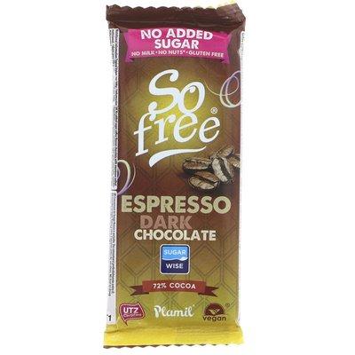 Plamil So Free No Added Sugar Dark Choc Espresso 35g