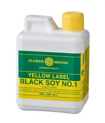 Flo­wer­brand Yellow Label Black soy no.1 500ml