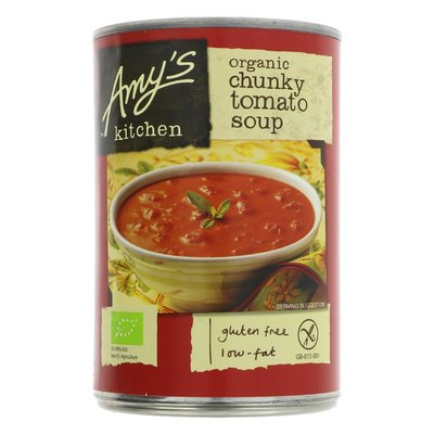 Amys Kitchen Chunky Tomato Soup 400g