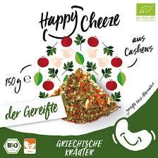 Happy Cheeze Griechische Kräuter gereift BIO 150g *THT 07.04.2018*