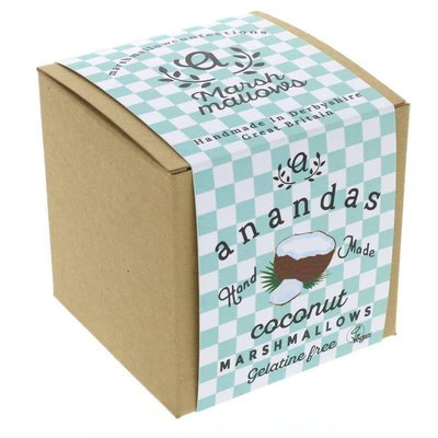 Ananda's Foods Coconut Marshmallows 80g