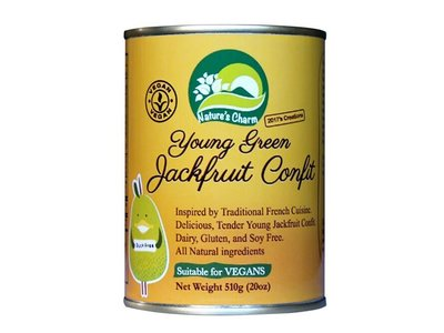 Nature's Charm Jackfruit jong confit 510g