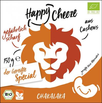 Happy Cheeze Chakalaka matured Bio 150g *THT 21.09.2018*