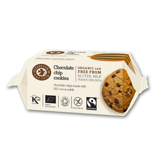 Doves Farm Choc Chip Cookies 180g