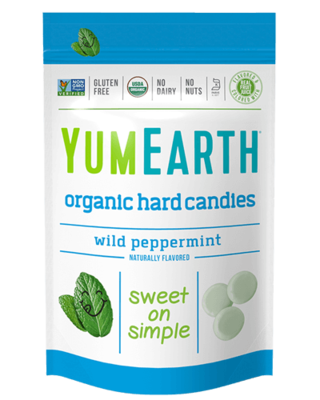 YumEarth Organic Wild Peppermint Hard Candies 93,5g