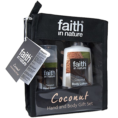 Faith Coconut Gift Set