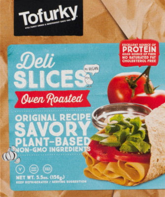 Tofurky Oven Roasted Turkey Deli Slices 156g