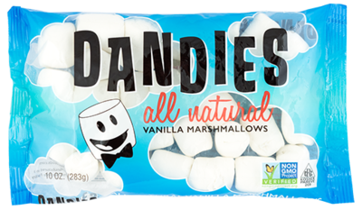 Dandies Marshmallows Vanilla Flavour 283g *THT 03.05.2019*