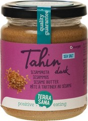 TerraSana Tahin Dark Salted 250g
