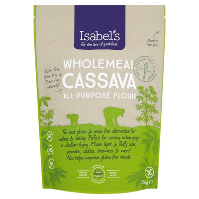 Isabels Naturally Free From Wholemeal Cassava Flour 350g