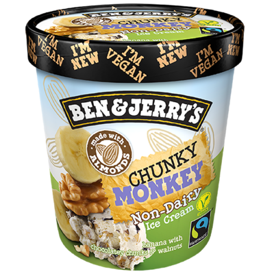 Ben & Jerry's Dairy Free Chunky Monkey 500ml
