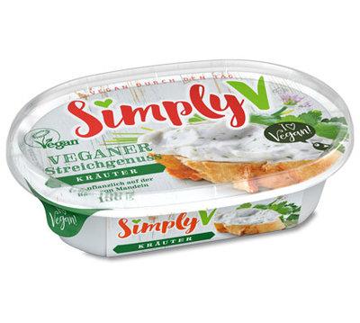Simply V Veganer Streichgenuss Spread Herbs 150g