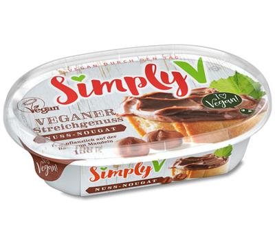 Simply V VEGANER STREICHGENUSS spread nut-nougat 150g